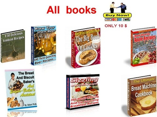 Product picture Collection of the best cookbooks Part 1