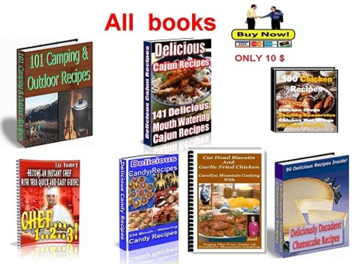 Product picture Collection of the best cookbooks Part 2 - pdf book
