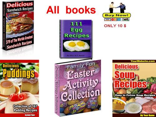 Product picture Collection of the best cookbooks Part 4 - pdf book
