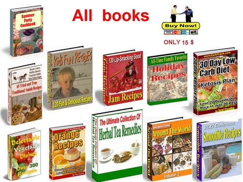 Product picture Collection of the best cookbooks Part 5 - pdf book